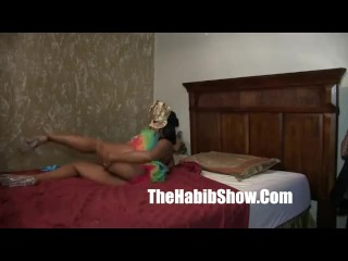 Stripper luvs it in her ass ghetto botty banged