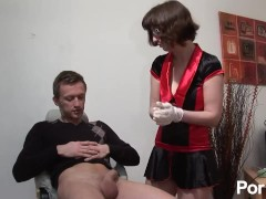 Cock Doc gives a full inspection
