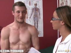 Brazzers – Jada Stevens is the best doctor ever