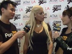 PornhubTV Bridgette B Interview at 2014 AVN Awards