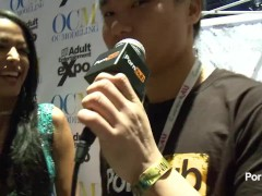 PornhubTV Layla Sin Interview at 2014 AVN Awards