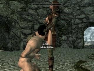 Skyrim: Sex With Aela (Fluke Zion Remake)