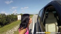 Stranded Teens - Flashing Hitchhiker Nadia Capri
