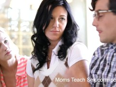 Moms Teach Sex - He finally gets to f...