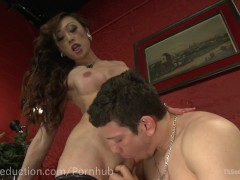 Venus Lux Gives One Hot Anal Cream Pie