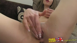 FakeAgentUK Sexy Italian babe shows unbelievable deep throat skills fakeagentuk audition homemade hardcore point of view amateur british italian office fingering tight ass reality casting interview busty doggystyle