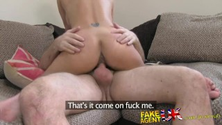 FakeAgentUK Petite girl, big tits, great fuck, job done  cock riding homemade clit rubbing british fakeagentuk audition amateur cumshot casting hardcore reality interview doggystyle real sex spunk in mouth huge tits