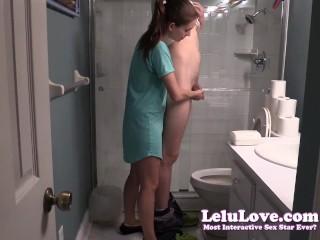 Lelu Love-Helping Him Pee SPH