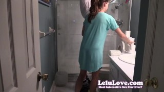 Lelu Love-Helping Him Pee SPH lelu love domination homemade femdom amateur sph cfnm peeing lelu 1080p brunette natural tits fetish hd humiliation clothed