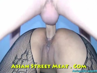 Delightful Ass Fucking Sperm Dribble In Thailand