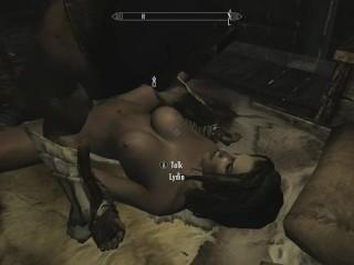 Skyrim - Sexe Avec Lydia