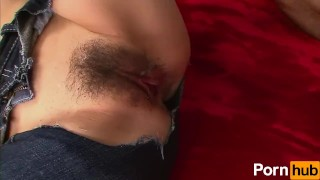 Bi Jeans Vol 18 - Scene 2  hairy pussy jeans creampie oral blowjob cumshot small tits vibrator japanese 3some mmf threesome toy doggystyle facial