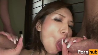 Bi Jeans Vol 19 - Scene 2 tittyfuck toys 3some vibrators mmf blowjob fingering jeans cumshot japanese threesome oral pussy licking condom facial