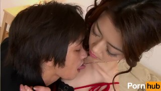 Gokujo Celeb Fujin - Scene 1  bj pussylicking creampie oral blowjob hardcore hairy-pussy vibrator japanese brunette 3some mmf fingering threesome toy