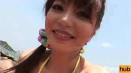 Guradoru vol 057 Hajimete Beach de H shichaimashita - Scene 1