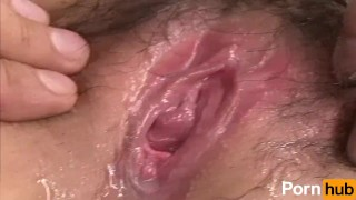 Jyonetsu Tairiku File 019 - Scene 1 panties milf masturbation wet squirting babe groping hairy-pussy vibrator natural-tits close-up japanese brunette squirt toy