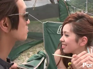 Yoru no Camp Chitai - Scene 1