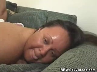 Chunky BBW Babe Fucked And Jizzed On