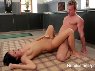 Cum craving pussy strokes cock to orgasm