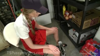 Manager Fucks Squirting Employee