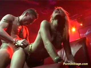 XXX porn - estel-two: amazing hot oriental fuck on public show stage