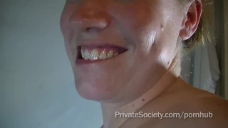 privatesociety homemade milk lactating breast-milk group-sex swingers nasty bbw real amateur mom mother facial mmf blowjob