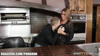Kianna Dior fucks her sons friend - Brazzers  big tits babe asian blowjob big dick busty milf hardcore brunette reality big boobs mother tit sucking canadian brazzers mom titty fucking