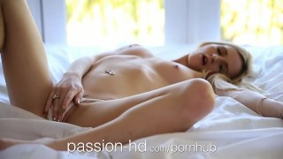 Passion-HD Teen wearing her man's shirt gets pounded