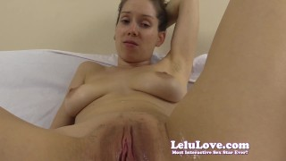 Lelu Love-FemDom Cuckold Closeup Creampie Licking  homemade cuckolding creampie hd humiliation femdom amateur sph lelu pov fetish domination hardcore brunette closeups natural tits spreading lelu love