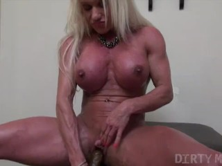 Ashlee Chambers - Showing Off Her Muscle Body