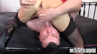 Femdom helps two horny crossdressers to suck big cock and spunk  big cock tranny crossdresser femdom blowjob amateur cumshot cum toys tgirl 69 sissy hardcore sex toys thetgirlpass spunk