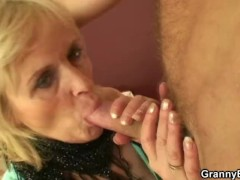 Granny prostitute is picked up and fucked