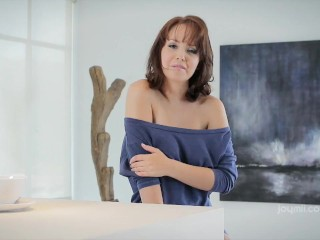 Hayden Winters Masturbates in The Kitchen