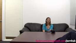 EXCLUSIVE FULL VIDEO - Incredible Audrey on Backroom Casting Couch