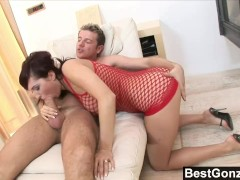 Lea Works Her Magic With A Big Dick
