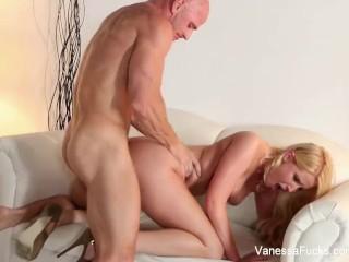 Vanessa Cage gets fucked hard