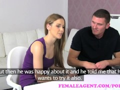 FemaleAgent. MILF shares sexy womans boyfriend in amazing threesome