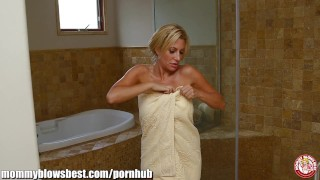 MommyBB I caught my stepmom in the shower!