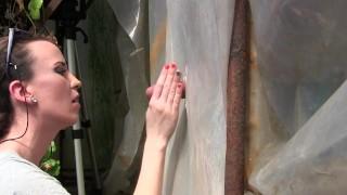 Amateur Young Milf Gloryhole Blowjob&Deepthroat Cumshot by Sylvia Chrystall adultfilmschool milf handjob queen bj mom amateur blowjob cfnm hot gloryhole eurobabe outdoor cumshot brunette facial