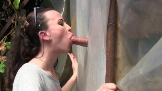 Amateur Young Milf Gloryhole Blowjob&Deepthroat Cumshot by Sylvia Chrystall  bj amateur blowjob gloryhole cumshot milf handjob brunette facial adultfilmschool cfnm mom hot eurobabe queen outdoor