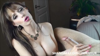 Let Me Take Care of Your Cock! ShandaFay! femdom stroking masturbation shandafay canadian big tits mom amateur babe cumshot mother canada licking cum pov brunette busty