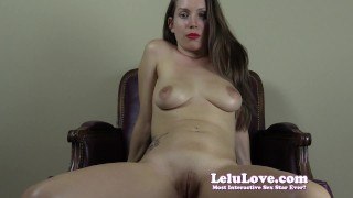 Lelu Love-Sorority Girl Cheerleader FemDom SPH  denial homemade teasing tease cheerleader hd humiliation femdom amateur solo sph lelu pov fetish domination brunette