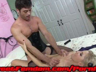 Alexis grace ashley fires and molly jane pegging sissy men 9