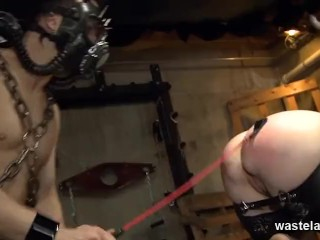 Want eat Chained up ass fucked