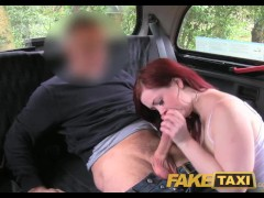 FakeTaxi Knickerless slut agrees to backseat sex