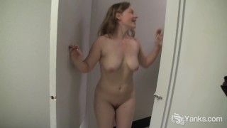 Busty Lili Masturbating Her Slit