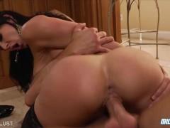 Hot milf Kendra Lust ride a big cock