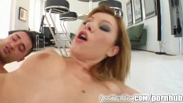 Ass Traffic Shy girl is ready for extreme ass fuck till she screams