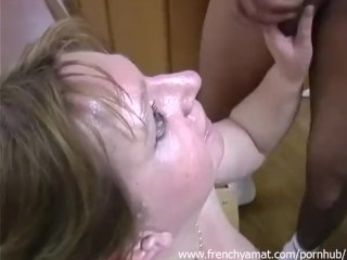 French bbw love cum