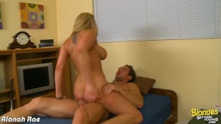 Busty blonde Alanah Rae ride cock huge tits blondesgettignfucked hardcore piercing big tits blonde blowjob big ass shaved tattoo reverse cowgirl cowgirl oral cum big dick busty doggystyle
